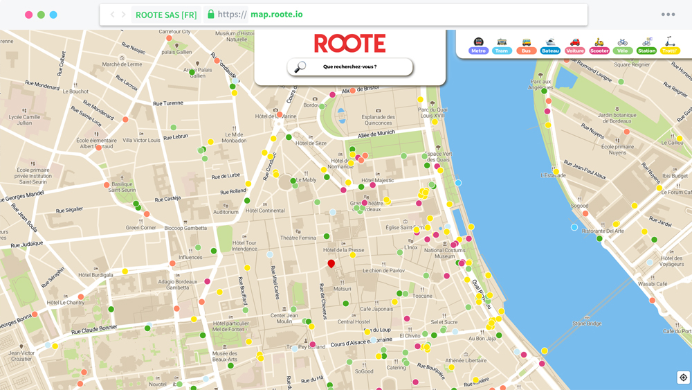 ROOTE MAP